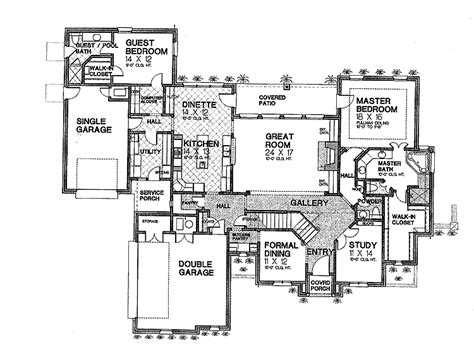 greek revival floor plans floor plans aflfpw14927 2 story greek revival home with