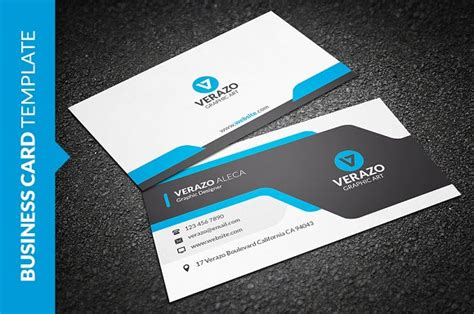 business card photoshop creative 0005 template creative modern business card business card templates