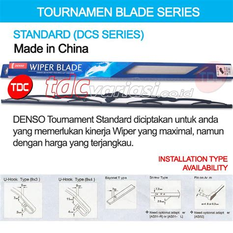 Wiper Denso Nissan Up Design Standard Dds Type Korea Tdc 1 jual beli aksesoris mobil wiper denso honda all new cr v