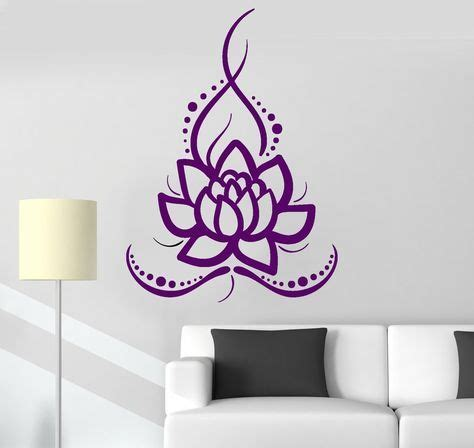 Lotus Flower Print Wall Sticker best 25 lotus flower ideas on lotus