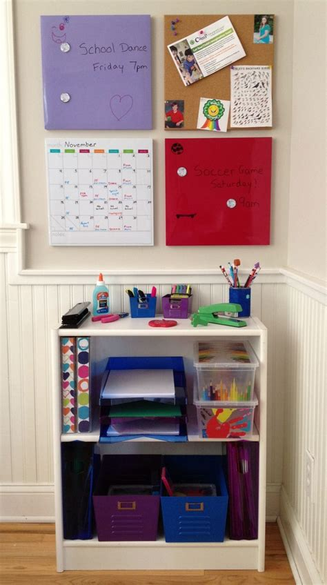 homework station get organized for school with a homework station for kids