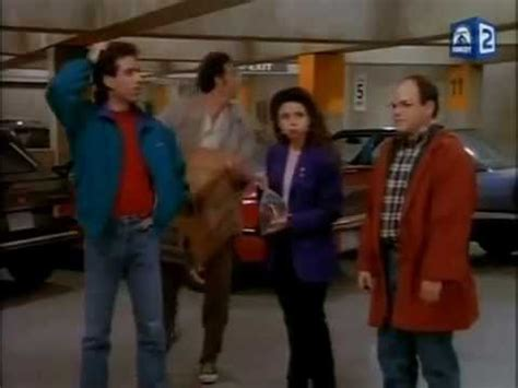 seinfeld garage seinfeld parking garage episode youtube