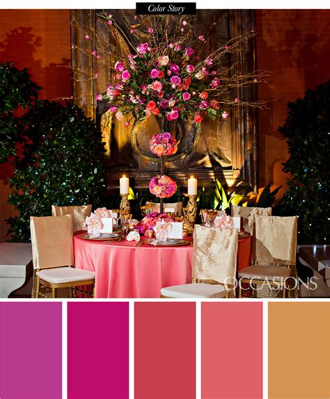 sunset themed reception decor occasions