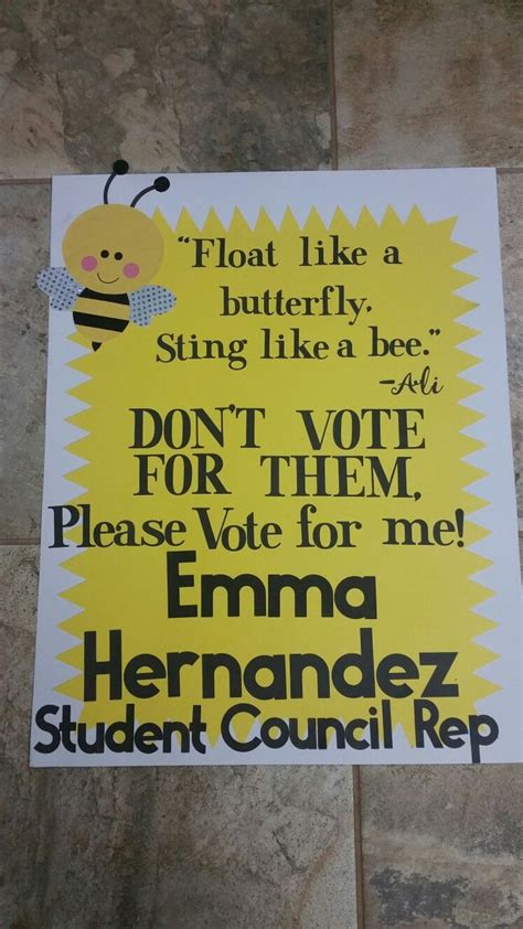 templates for student council posters creative political caign ideas