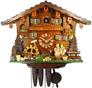Chalet Style cuckoo clock 1 day movement chalet style 27cm by august