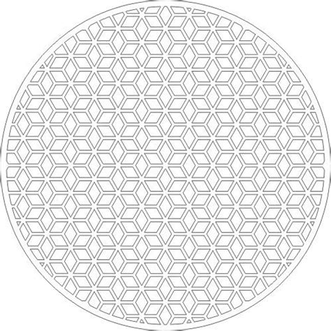 corel draw circular pattern how to fit diamond patterns into circle nicely