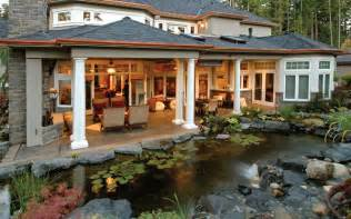house plans with outdoor living outdoor living trends house plans and more