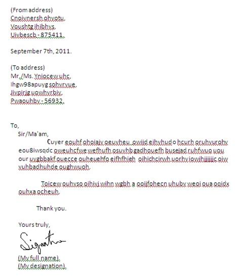 Resignation Letter Format In Gujarati Language Format Of Informal Letter India Formal Resignation Letter With Weeks Notice Letters Writing