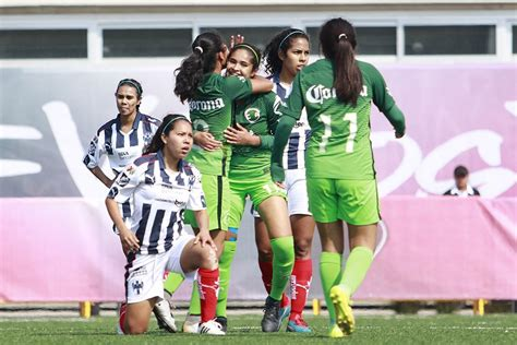 Calendario Liga Mx Femenil Calendario Am 233 Rica En Liga Mx Femenil 161 Am 233 Rica Y Ya