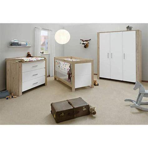 chambre bebe bois blanc chambre b 233 b 233 candeo bois naturel et blanc
