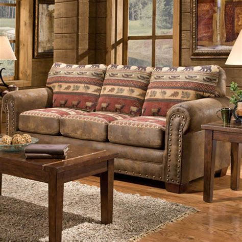 lodge living room furniture american furniture classics lodge sierra sofa reviews