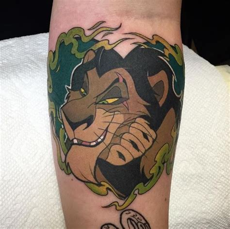 lion king tattoos huertas artist disney tattoos flower