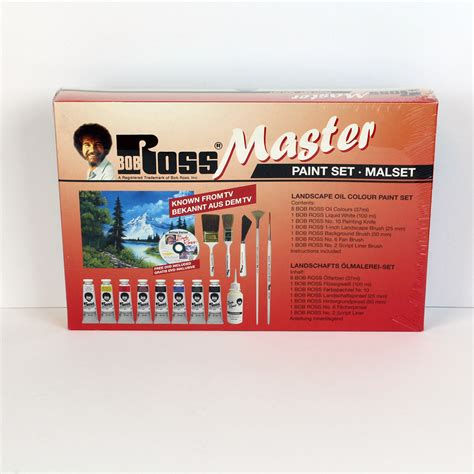 bob ross painting set bob ross master paint set ken bromley supplies