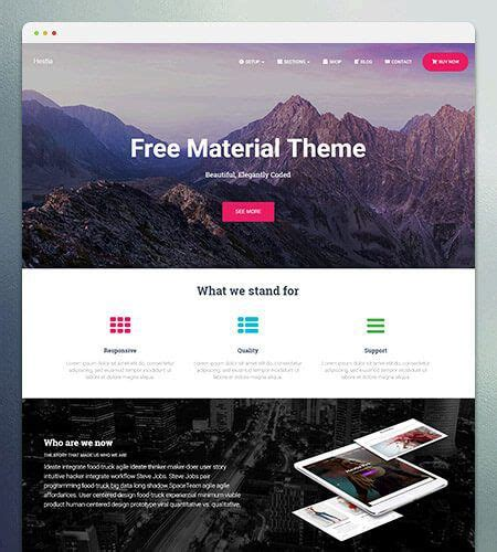 word press templates 30 best free themes 2018 themeisle