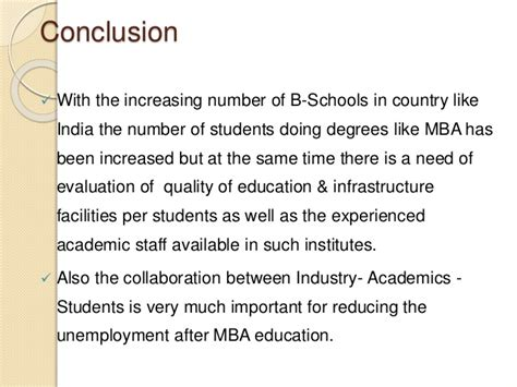 Mba Unemployment Rate India by Unemployment Risk Associated With Mba