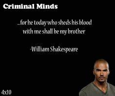 criminal minds quotes on criminal minds