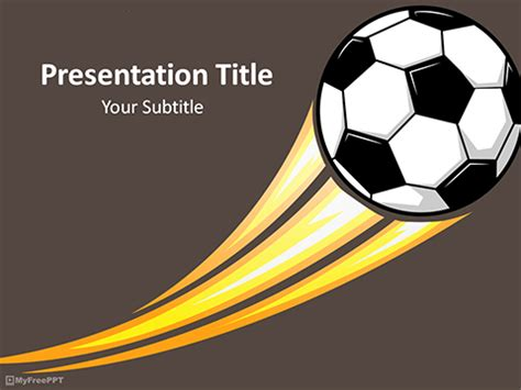 Free Sports Powerpoint Templates Themes Ppt Free Soccer Powerpoint Template