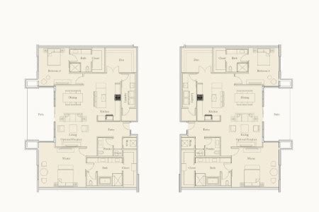 borgata floor plan the enclave at borgata spaces