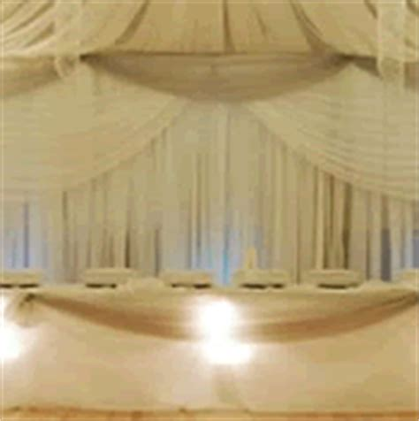 draping walls with fabric pipe drape pipe and drape system event decor direct