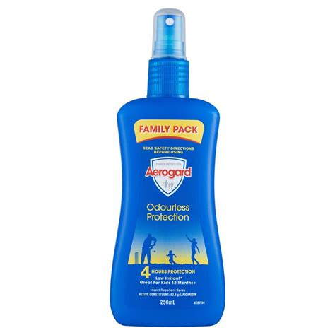 buy aerogard odourless insect repellent 250ml pump online