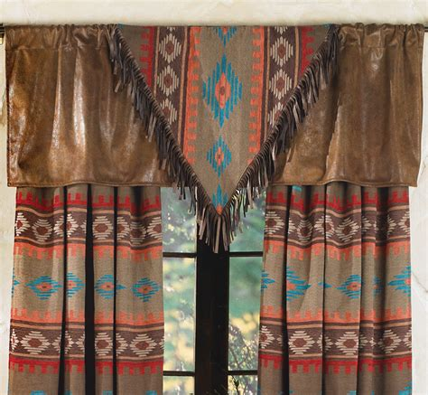 Southwest Kitchen Curtains Shadows Quot V Quot Valance