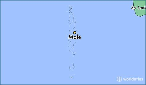 male maldives male maale map worldatlascom