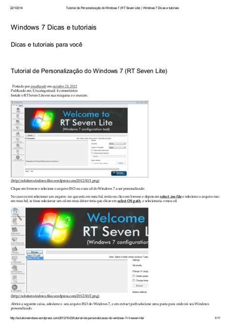 tutorial de nmap en windows tutorial de personaliza 231 227 o do windows 7 rt seven lite