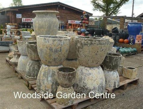 Large Garden Planters And Pots by Large Atlantis Egg Pots Salvage Garden Pot Glazed
