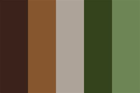 camo colors camo midfall color palette