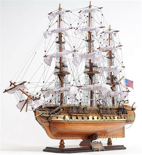 Wooden Warships Images - uss constitution 1798 wooden model ship 31 quot
