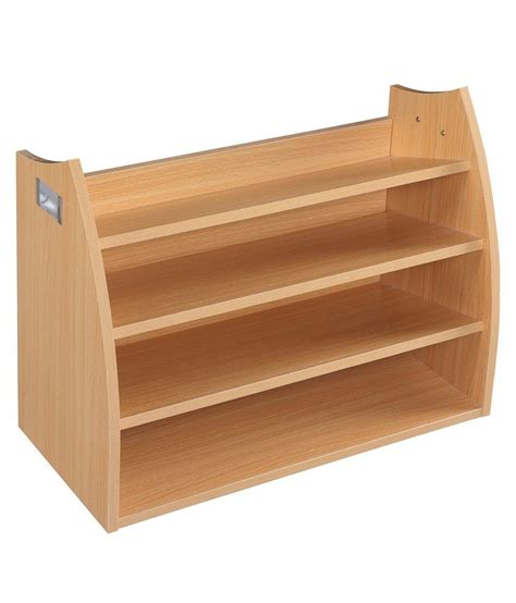 wood shoe rack 4 layer wooden shoe rack in finish buy 4 layer
