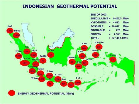 Minyak Ikan Di Indo anugerah terindah untukmu negeriku potensi geothermal