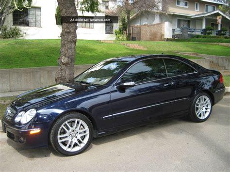 2009 mercedes clk350 base coupe 2 door 3 5l