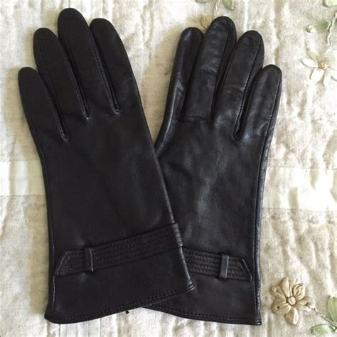 Kokosalaki For Nine Wests Irene Gloves by Nine West Nine West S Black Leather Gloves From