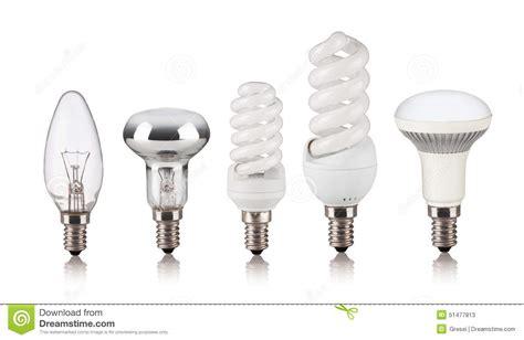 set of different light bulbs stock photo image 51477813