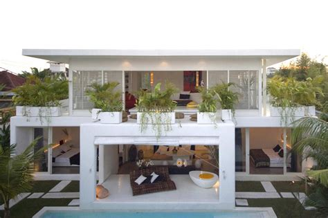 bali house design contemporary villa in bali with overlapping functional spaces idesignarch interior design