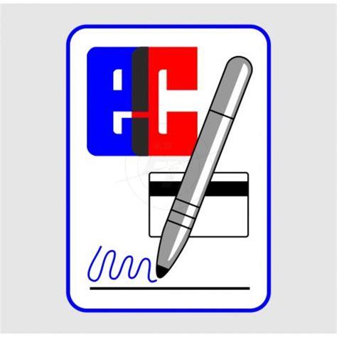 Aufkleber Zahlen Bestellen by Aufkleber Ec Kartenzahlung Mit Unterschrift