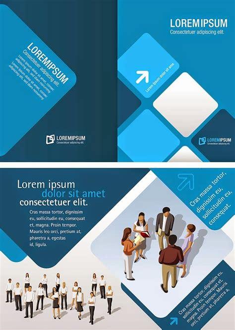 contoh desain brosur vector 20 corporate busines brosur premium vector free image