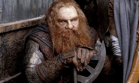 actor gimli height john rhys davies not interested in dwarfing up for the