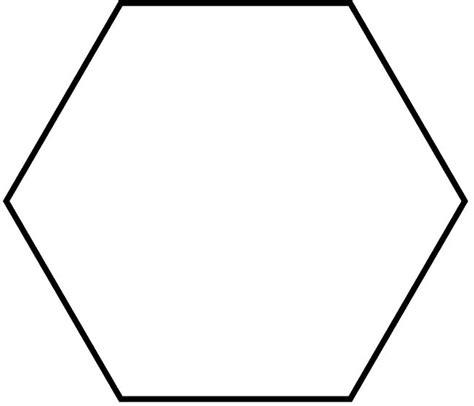 printable shapes hexagon pin by elainna myers on classroom ideas pinterest