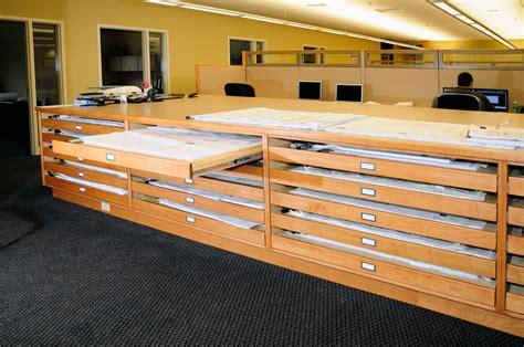 blueprint drawer blueprint drawers for office custom cabinetry by ken leech