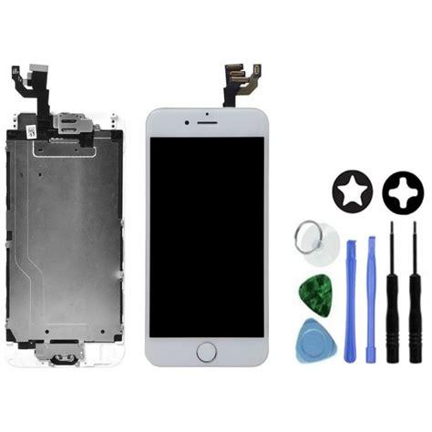 ecran complet blanc de remplacement pour iphone 6 outils tout pour phone