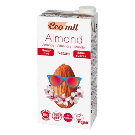 Fabbri Almond Milk Mandorla 1l lait amande sans sucres bio 1l ecomil acheter sur