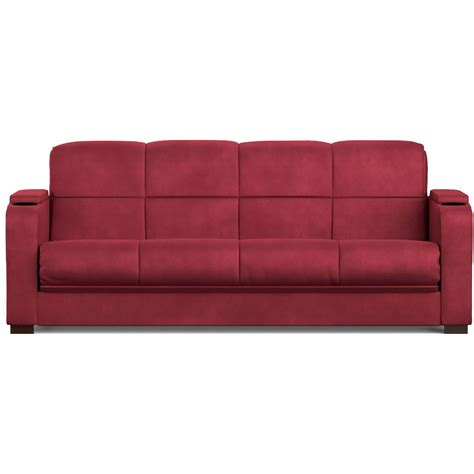 Mainstays Sofa Sleeper Mainstays Microfiber Storage Arm Futon Sofa Sleeper Colors Ebay