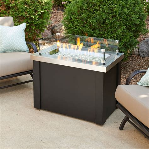providence outdoor gas pit table prov 1224 ss k