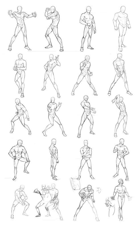 Anime Poses by How To Draw Anime Poses Gallery Anime Sketch Pose