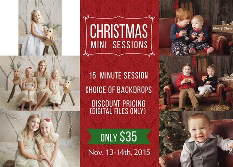 christmas mini sessions 2015 lancaster pa