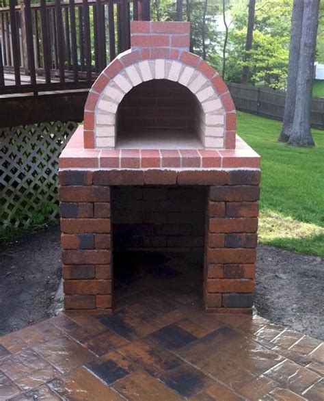 backyard brick pizza oven a perfectly constructed diy wood fired brick pizza oven