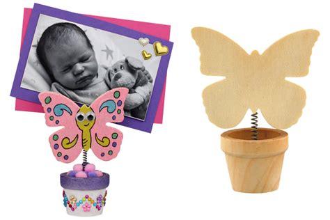pot de fleur papillon avec pince marque place porte