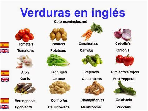 imagenes de zanahoria en ingles verduras con nombres en ingles mas im 225 genes material